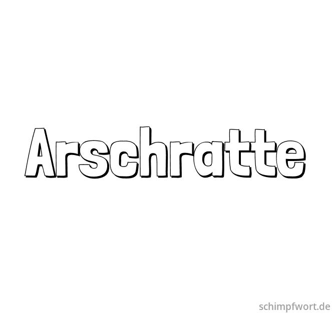 Arschratte