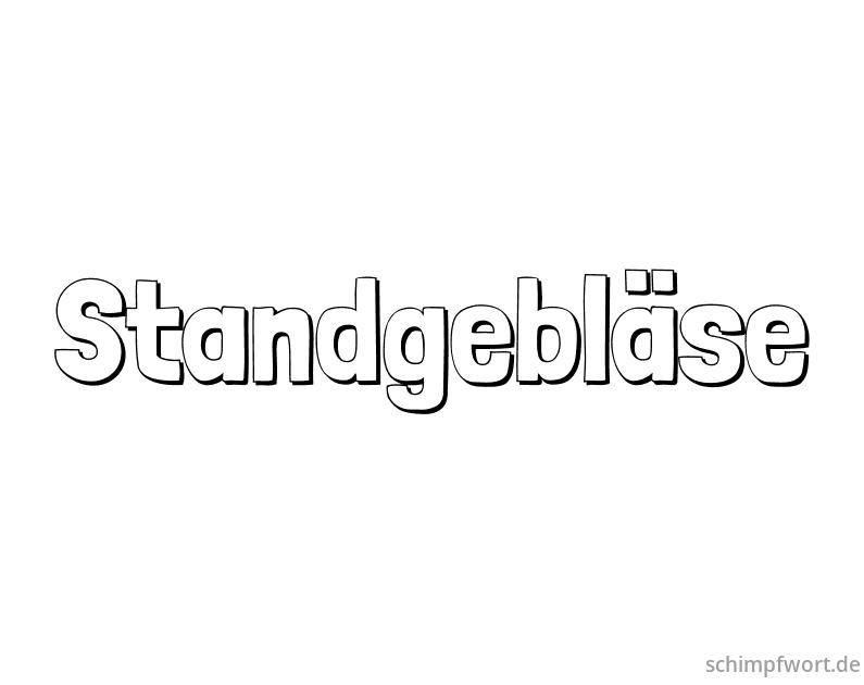 Standgebläse Standgebläse (coll.)